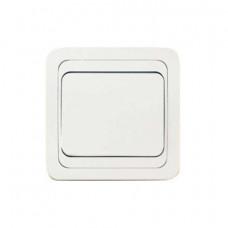 Выключатель Makel Mimoza 1-клавишный белый 12001
