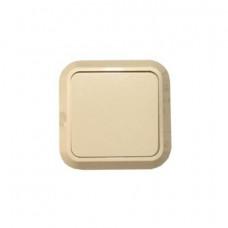 Выключатель Makel открытой установки 1-клавишный крем 45201