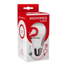 Лампа LED ЭКОНОМКА Eco_LED7wA60E2745 7Вт светодиодная