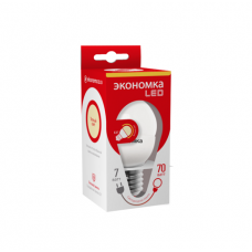 Лампа LED ЭКОНОМКА Eco_LED7wGL45E2730 7Вт светодиодная