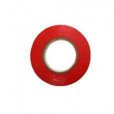 Изолента ПВХ красная 0,13мм х 15мм х 20м