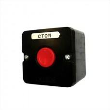 Пост кнопочный ПКЕ 222/1 красный карболит