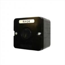 Пост кнопочный ПКЕ 222/1 черный карболит