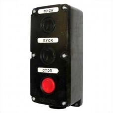 Пост кнопочный ПКЕ 222/3 карболит
