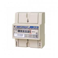 Счетчик 1-фазный СЕ 101 R5 Энергомера