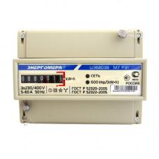 Счетчик 3-фазный ЦЭ6803В Р31 10-100А Энергомера на дин-рейку
