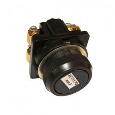 Кнопка КЕ-011/2 черная