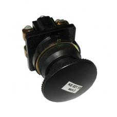 Кнопка КЕ-021/2 черная